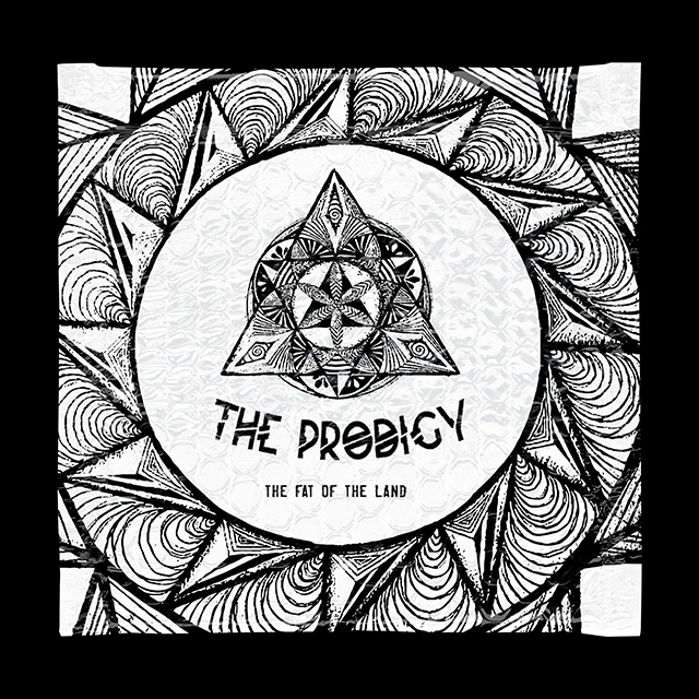 The Fat Of The Land - Prodigy vinyl cover